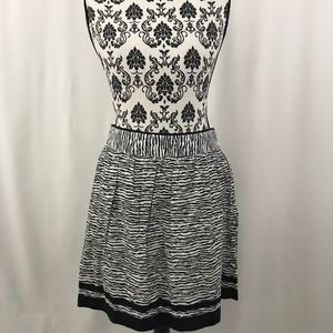 NWT Ann Taylor Loft Black and White Skirt